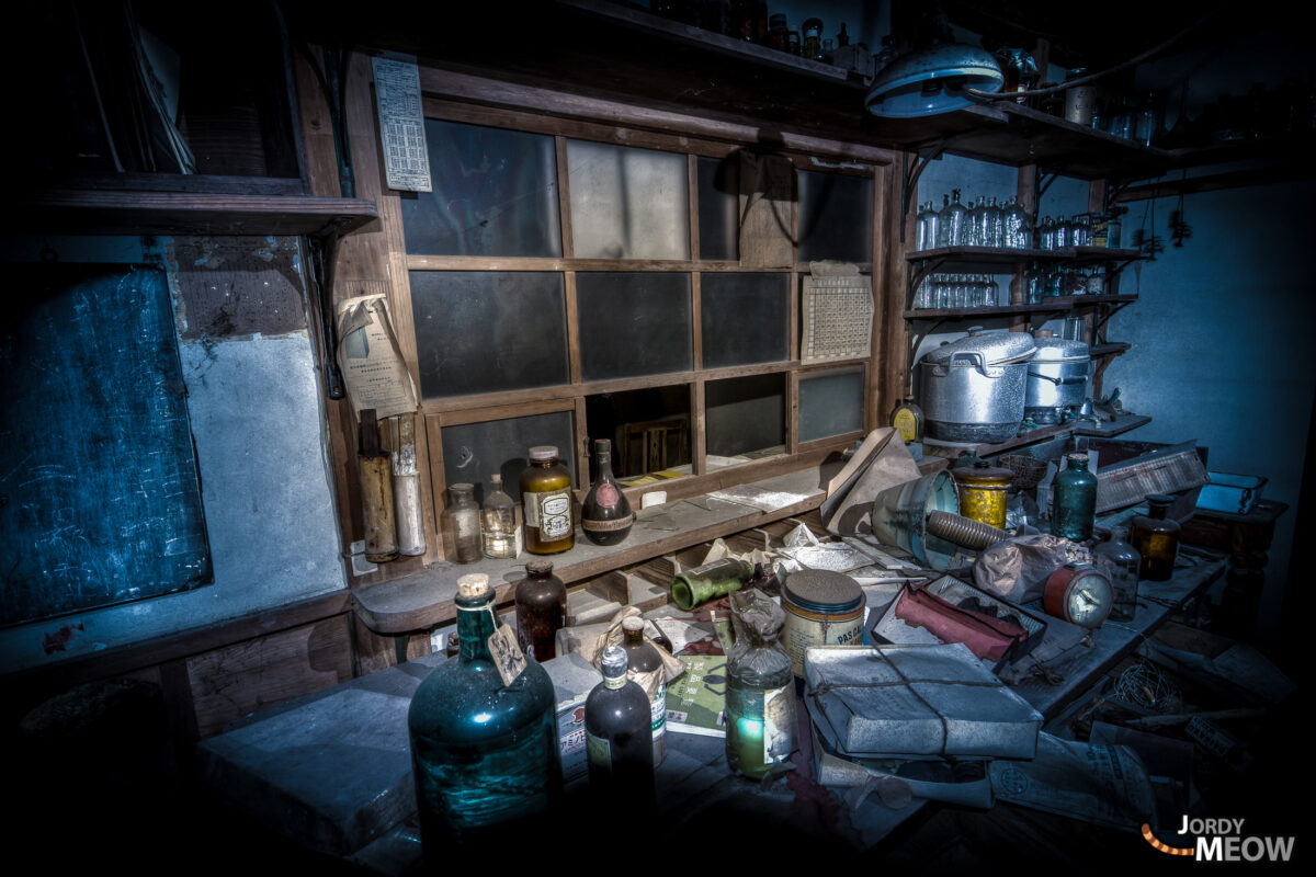 Abandoned Hospitals - Pharmacy Desk