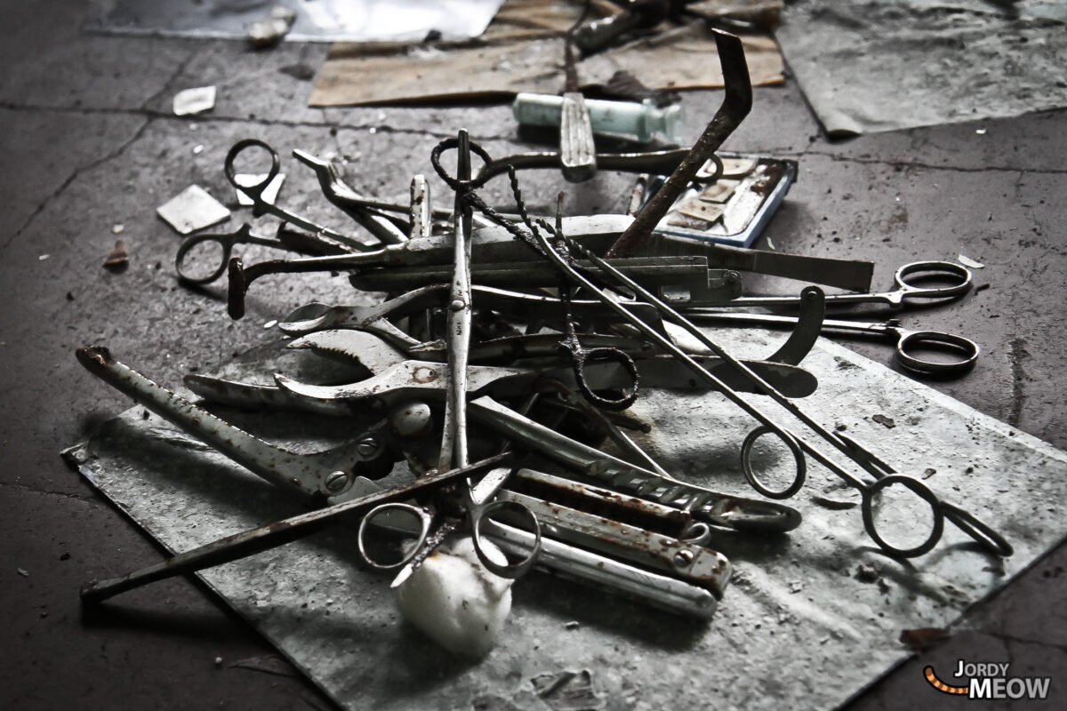 Abandoned Hospitals - Shears and Tears