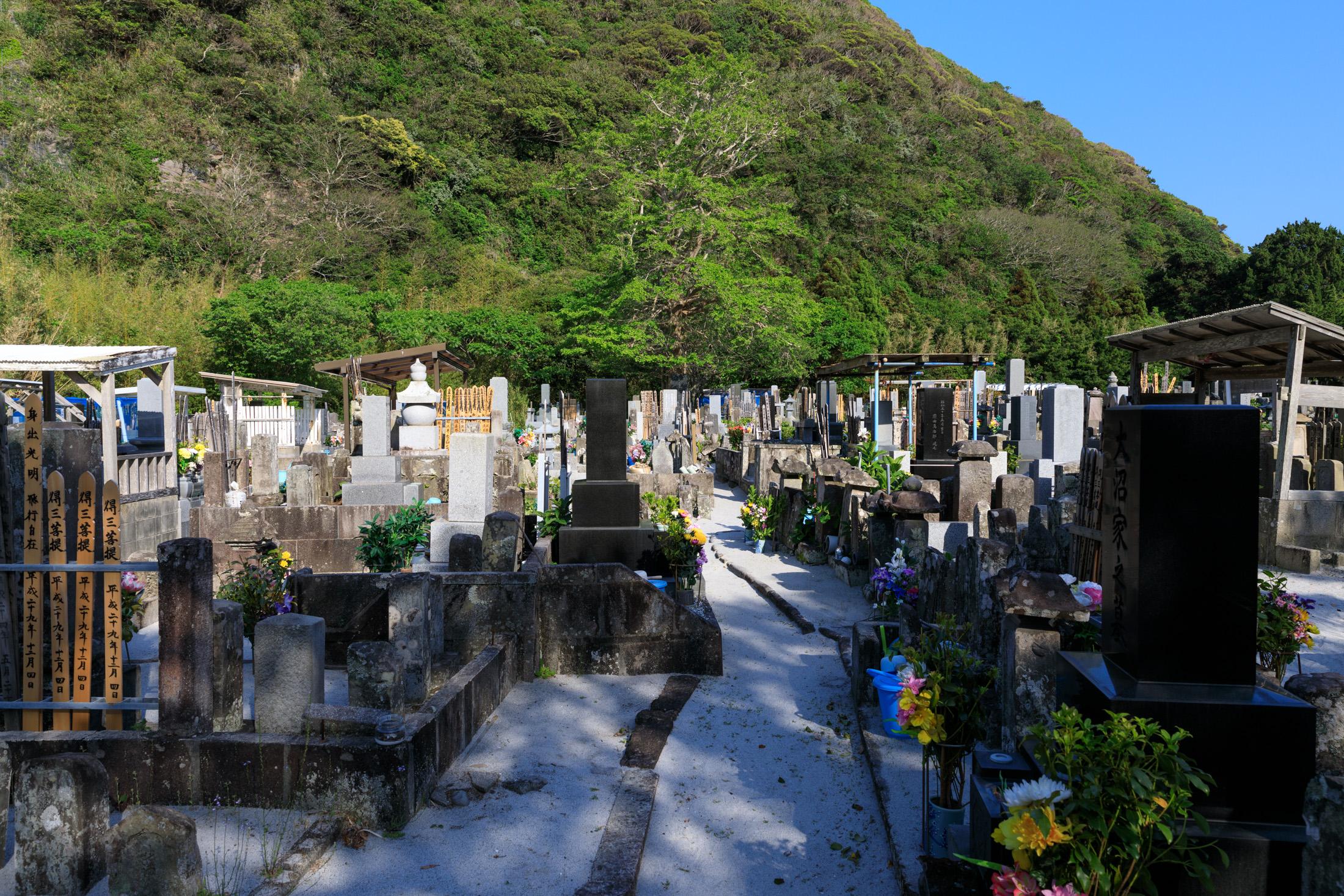 cemetery, niijima
