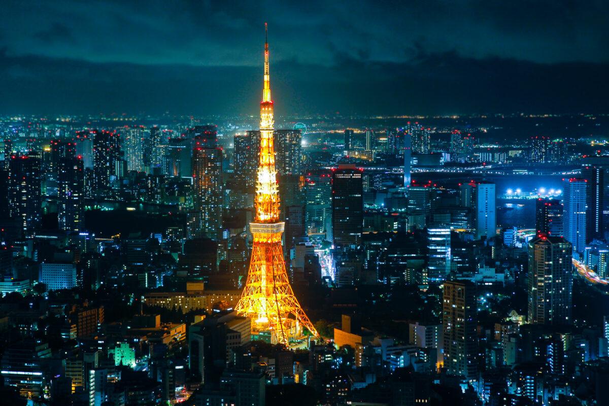 Tokyo Tower Night - Roppongi Hills