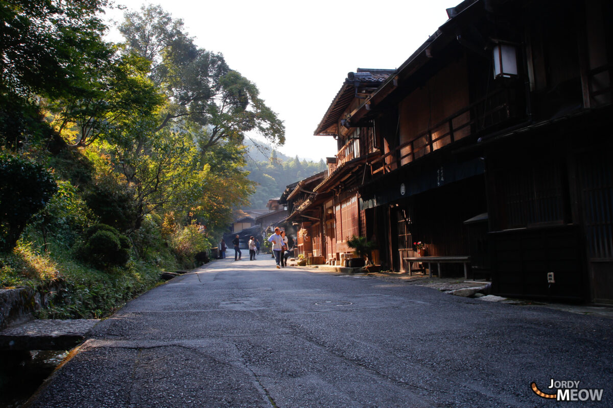 Tsumago - Kiso Valley - First Visitors