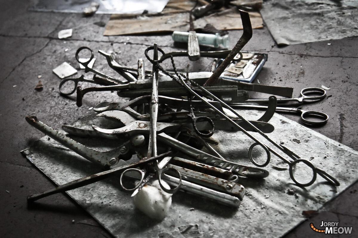 Abandoned Hospitals - Shears and Tears