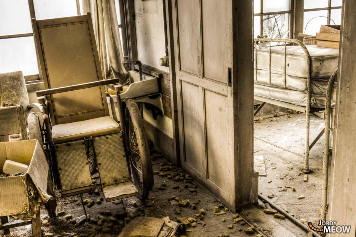 Abandoned Hospitals - Wheelchair