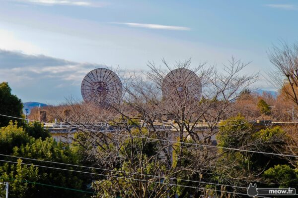 Satellites in Front at Fuchu Air Base