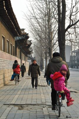 Child on a Bike in Kaesong