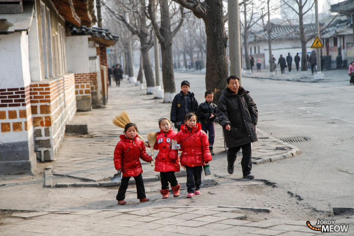Children in Kaesong