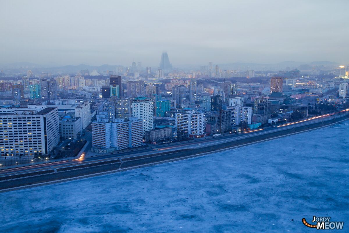 Morning View of Pyongyang