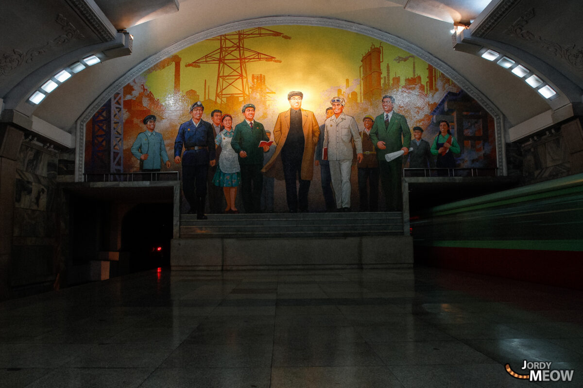 Revolution in the Pyongyang Metro
