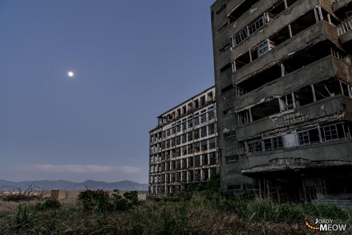 Hashima Playground by Night