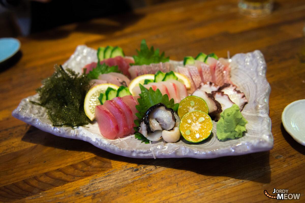 Sashimi in Naha