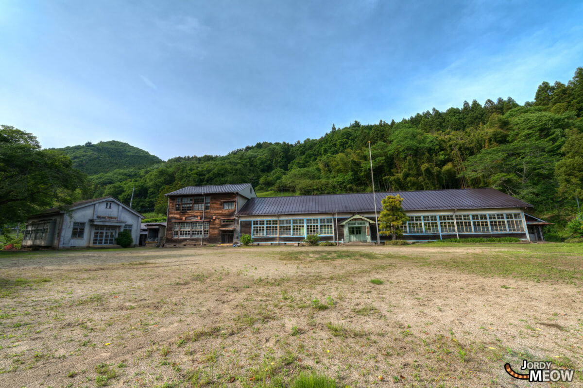 Beautiful School in Japan, Ibaraki