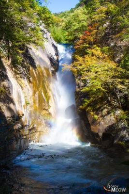 autumn, chubu, japan, japanese, natural, nature, waterfall, yamanashi