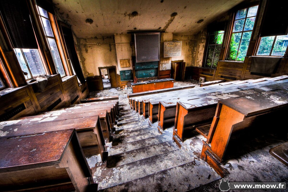 Urbex - Lecture Hall