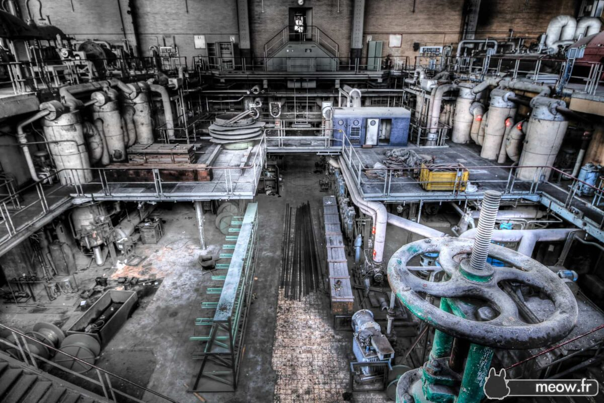 Urbex - Power Generation Room