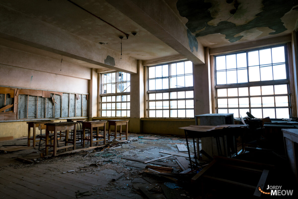 Gunkanjima - Empty School