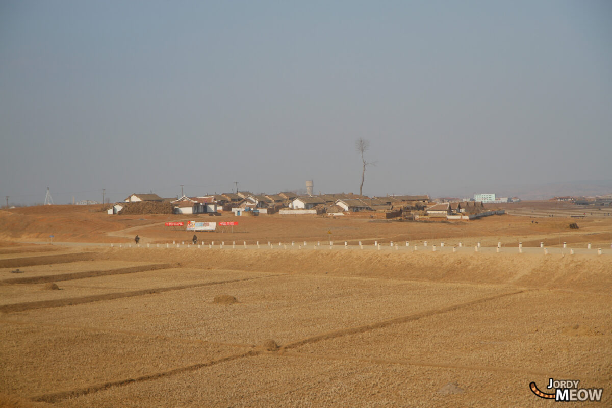 Countryside in North Korea