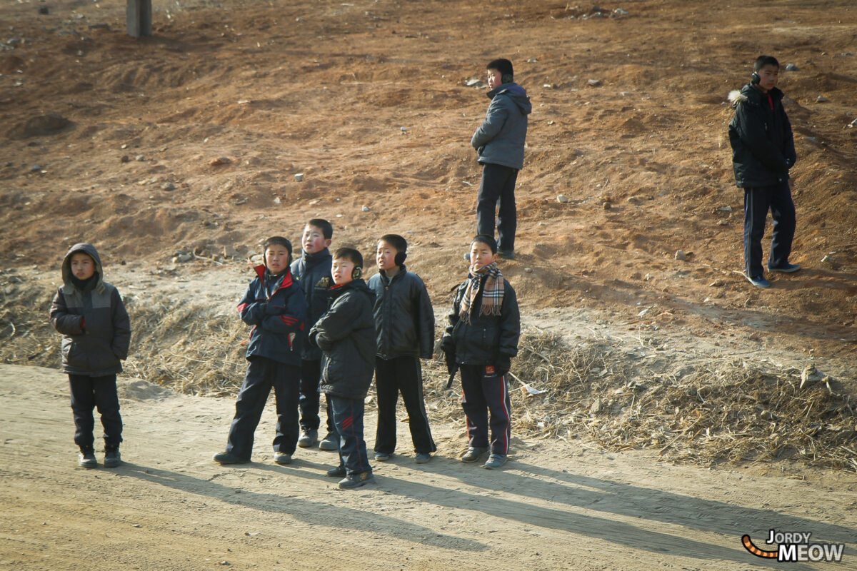 Curious Children in North Korea