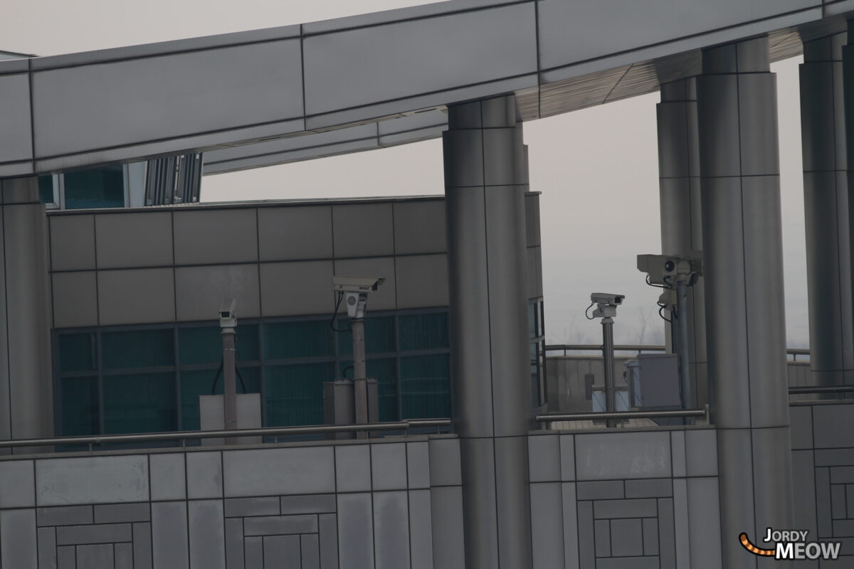 DMZ Cameras in South Korea