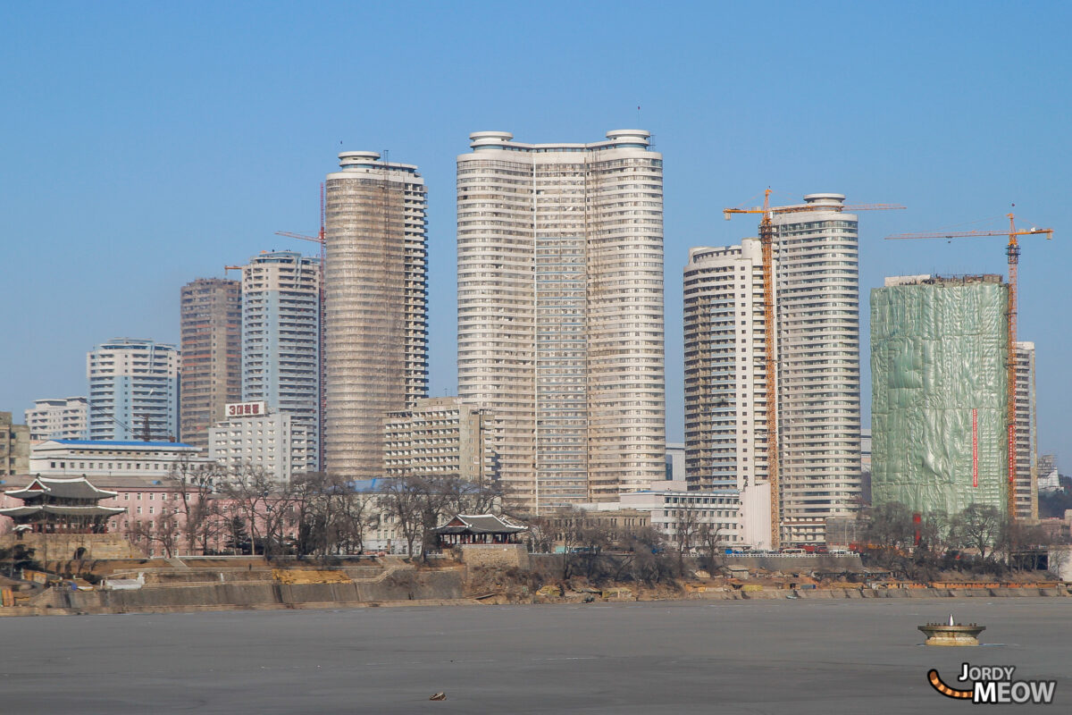 Massive Buildings in Pyongyang