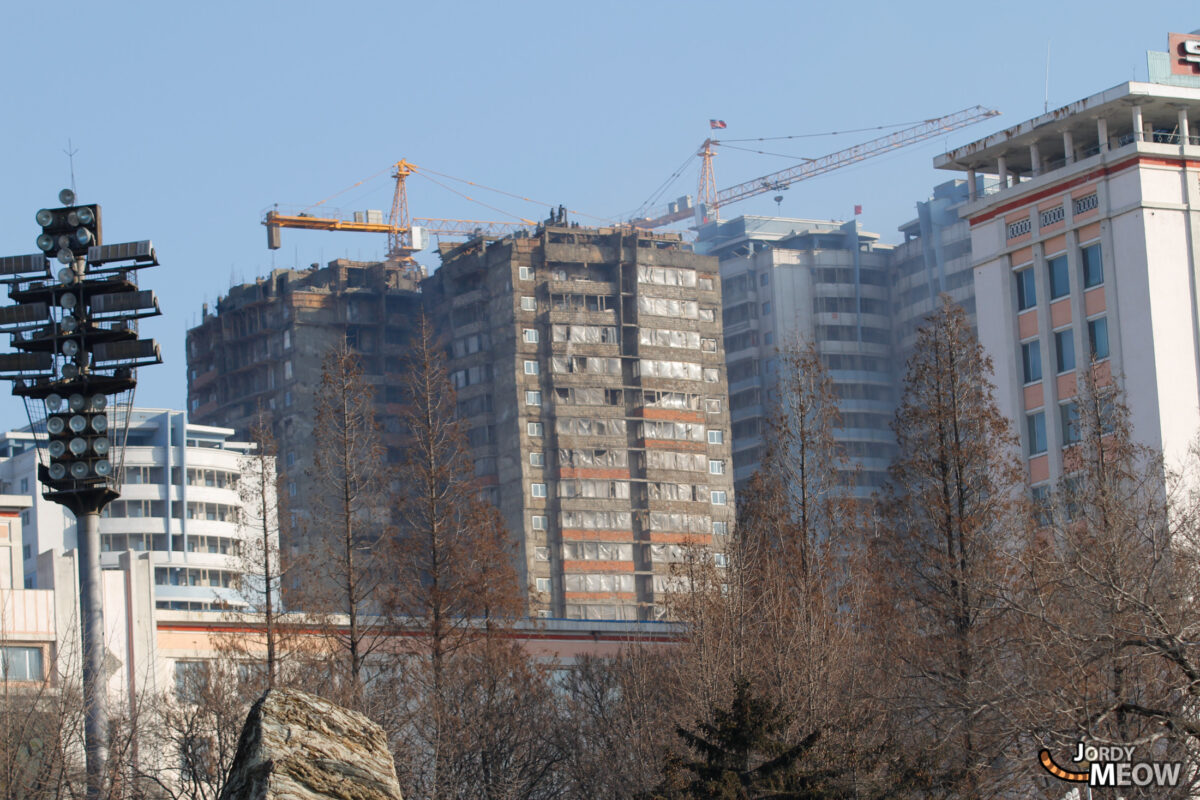 Muddy Building in Pyongyang