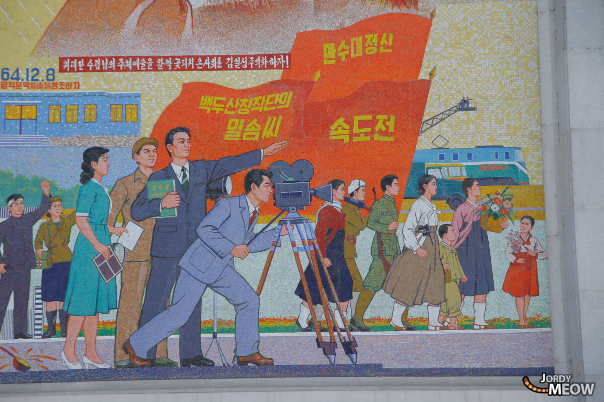 Cameraman at Pyongyang Film Studios