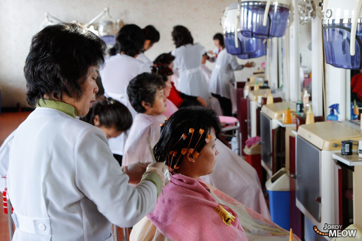 Haircut in Pyongyang