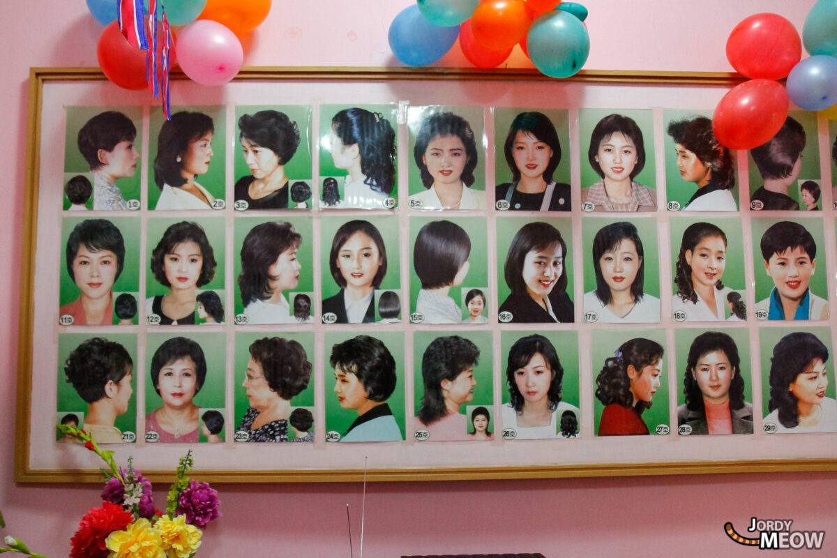 Haircut Styles in Pyongyang