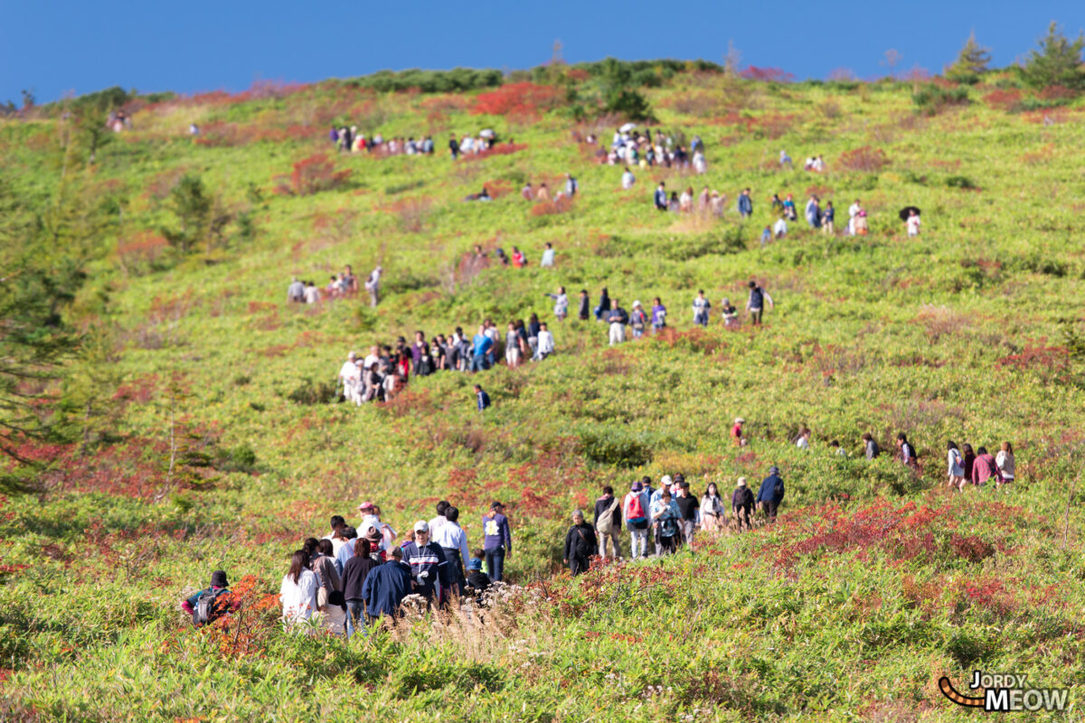 Queue on the Mount Shirane