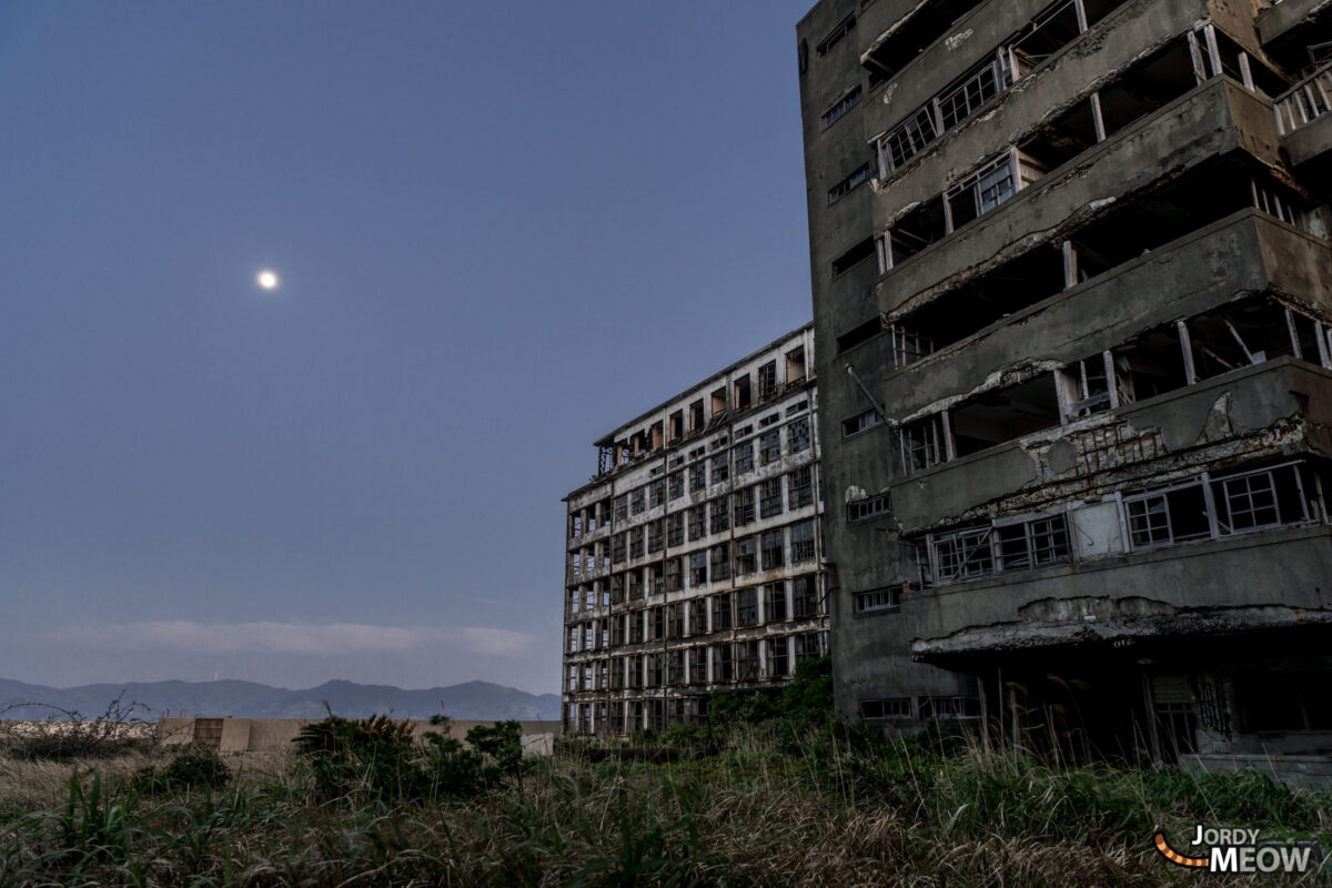 Hashima Playground by Night