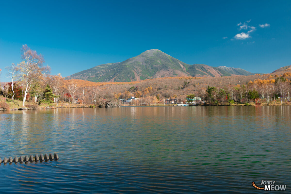 Lake Shirakaba in Autumn