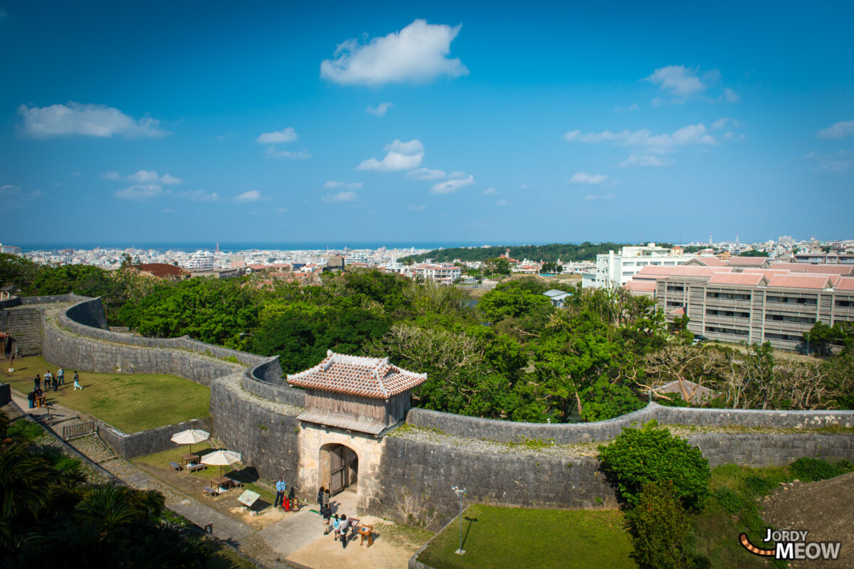 View from Shuri Castle