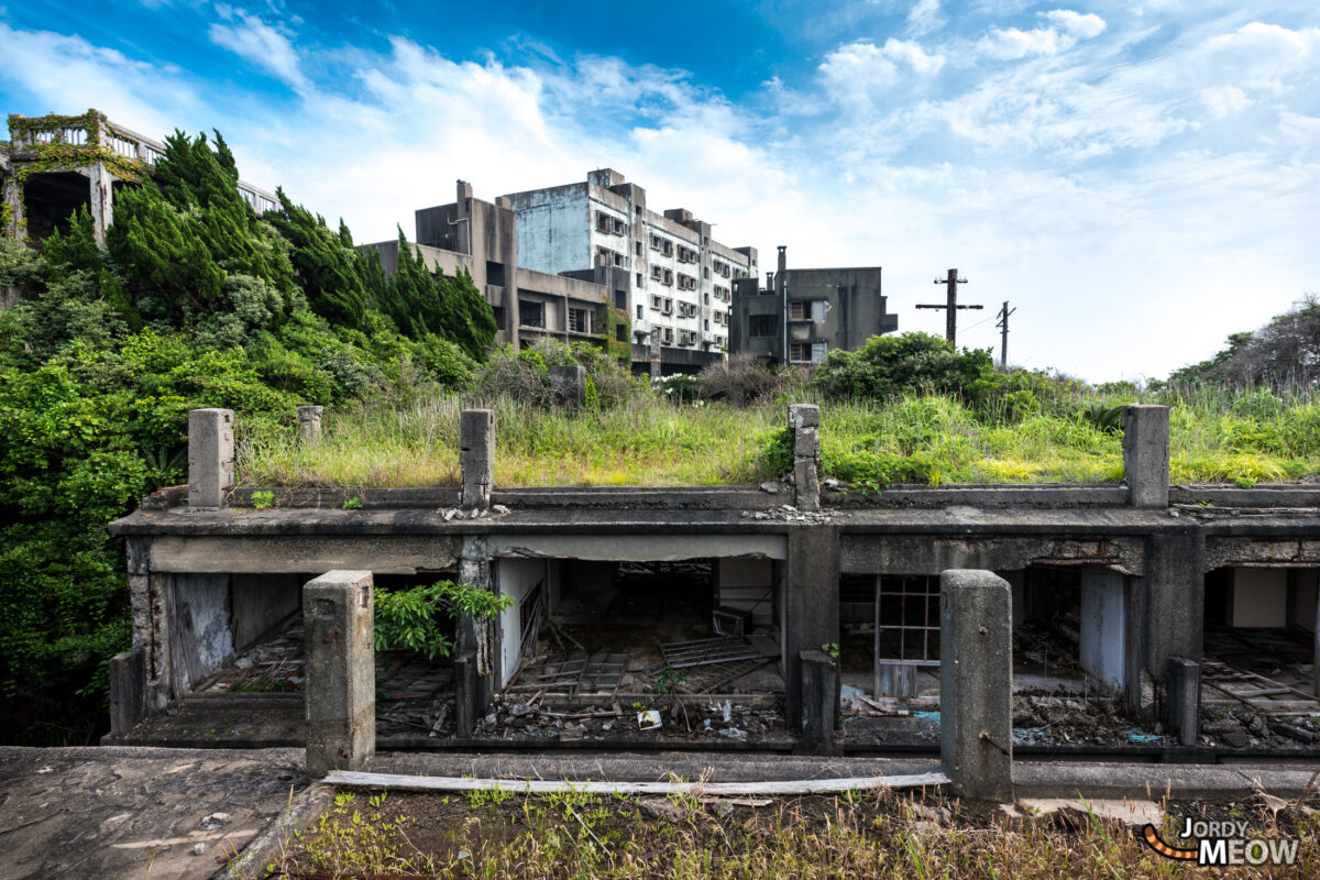 Gunkanjima Apartments Roof