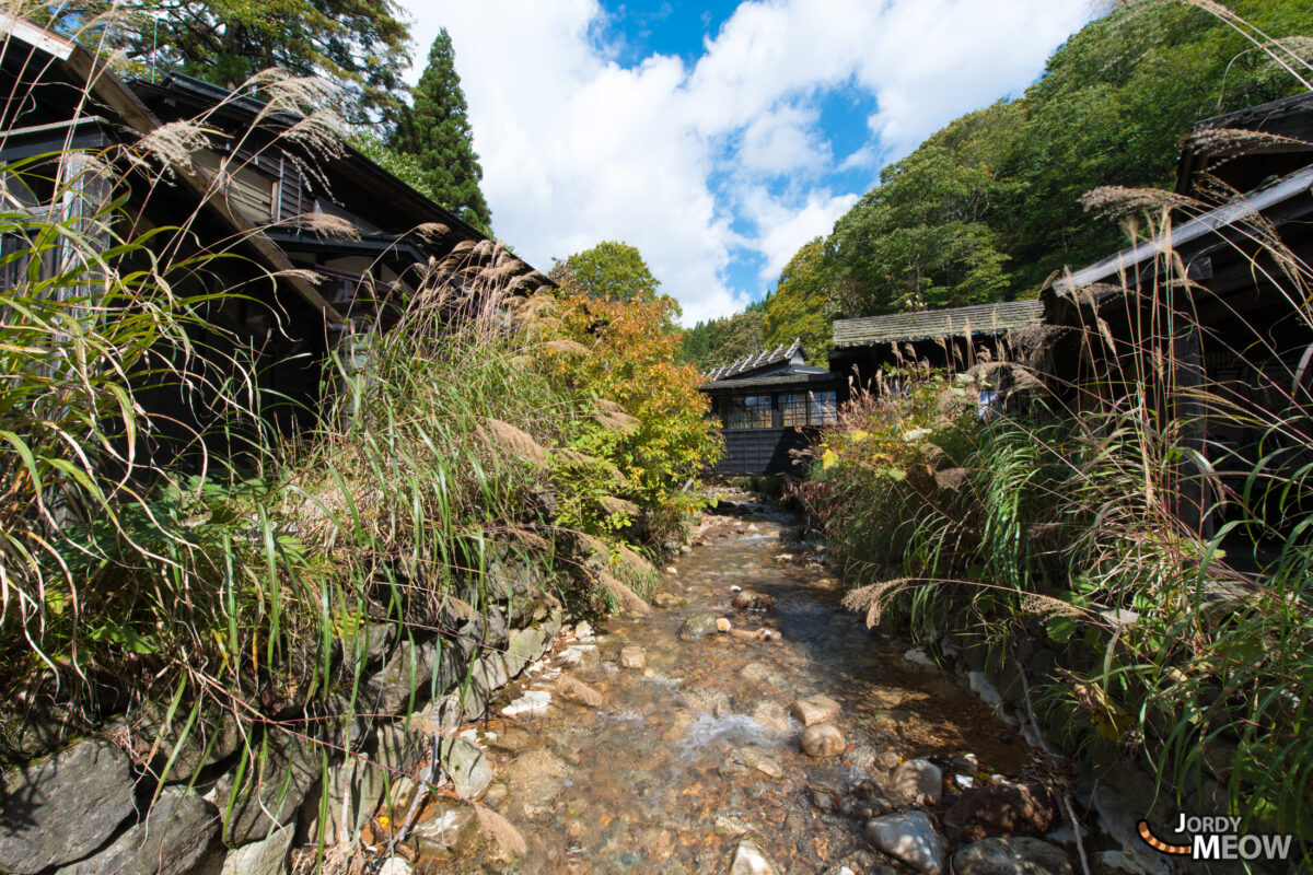 Main stream at Nyuto Onsen