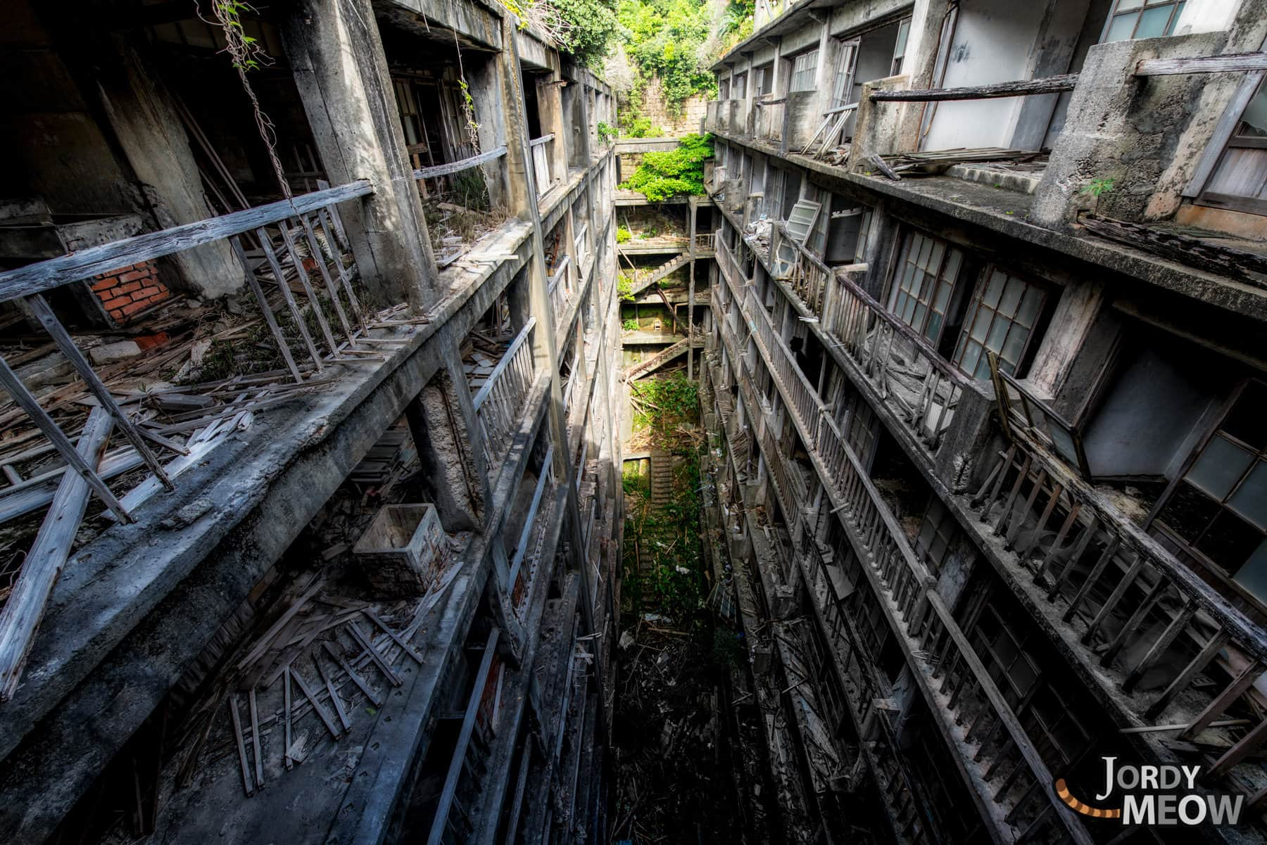 abandoned, by-dreamy, gunkanjima, haikyo, japan, japanese, kyushu, nagasaki, on-sale, ruin, urban exploration, urbex