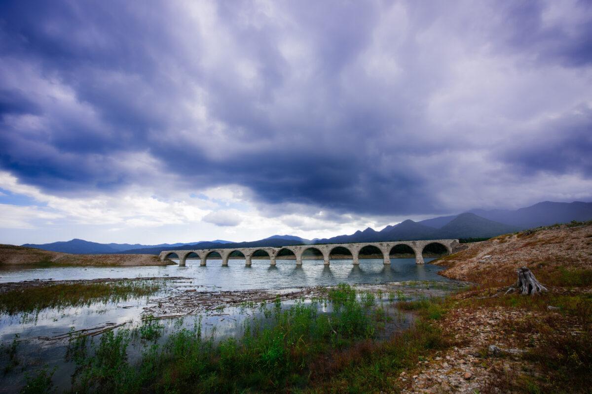 taushubetsu,abandoned,bridge,hokkaido