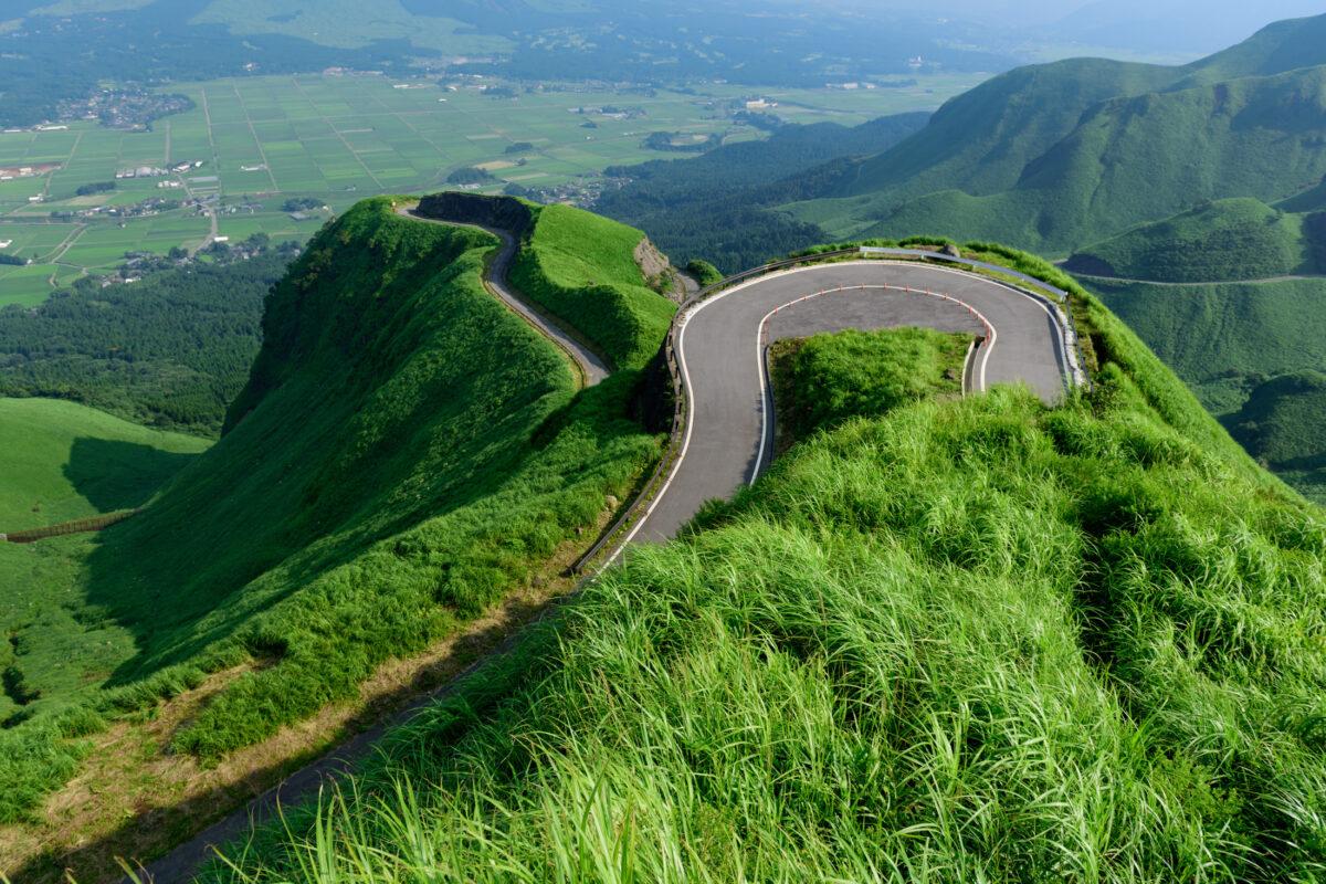 japan, japanese, kumamoto, kyushu, road