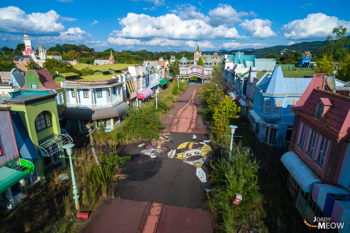 abandoned, amusement-park, asia, attraction-park, drone, haikyo, japan, japanese, kansai, nara, ruin, theme-park, urban exploration, urbex